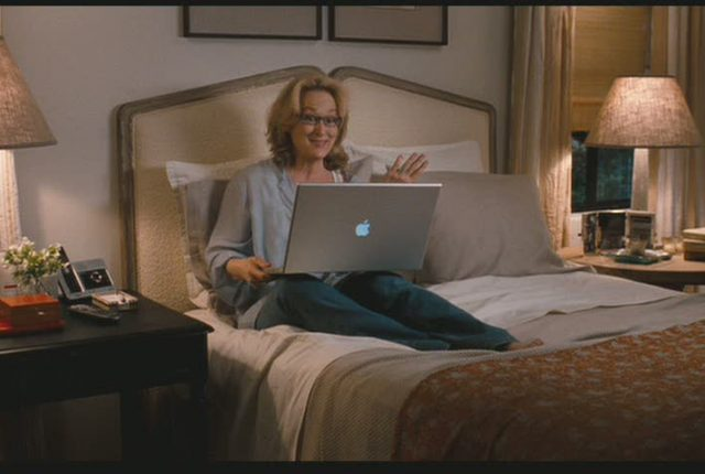 Meryl Streep in movie its complicated